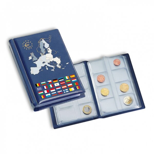 coin-wallet-with-12-coin-sheets-for-12-complete-euro-coin-sets-blue